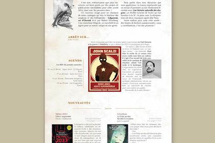 Extrait de newsletter pour maison d'édition