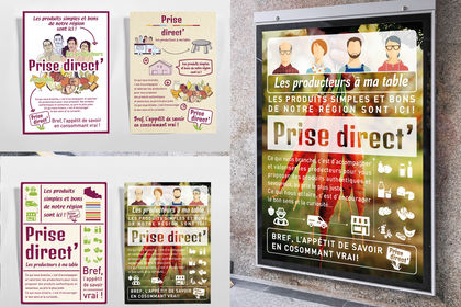 Affiches Magazin agro-alimentaire