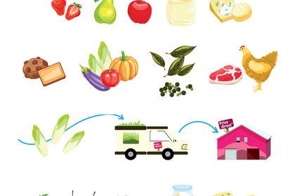 Illustration alimentaire