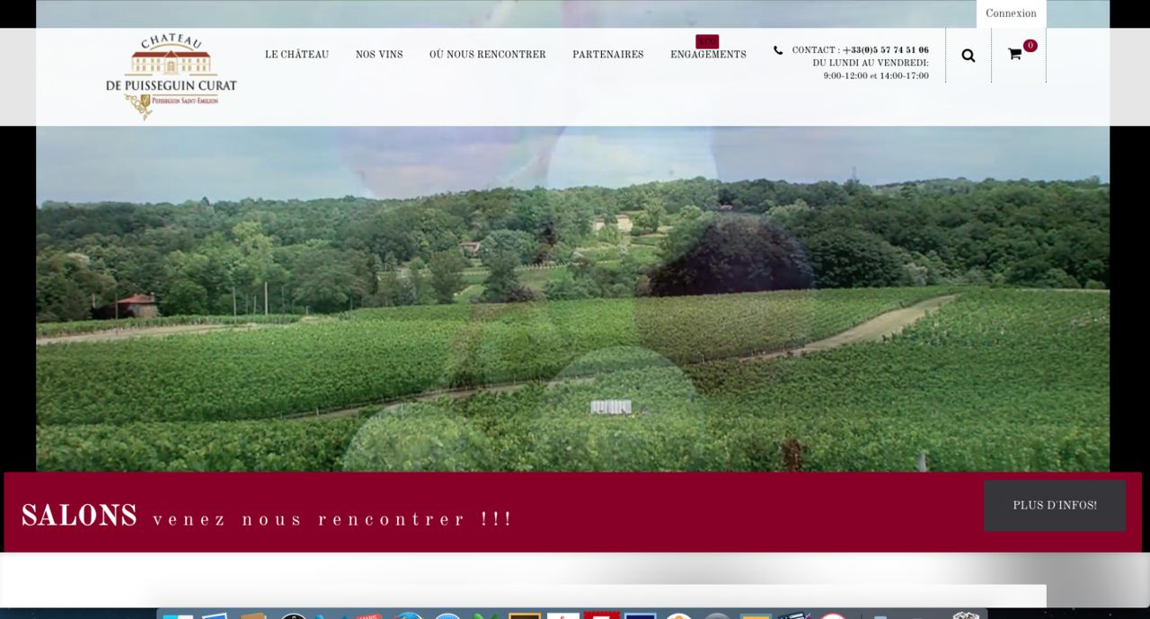 Http://www.chateaupuisseguincurat.fr