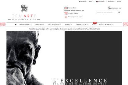 Site internet Sculpteur