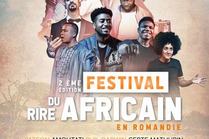 Affiche Festival du rire africain