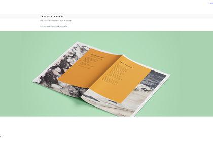 Catalogue Tables & Marbre