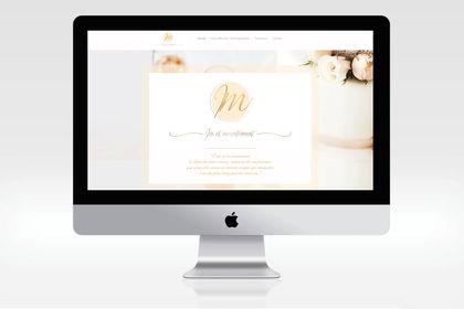 Création logo + charte graphique + site