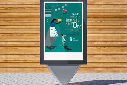 Affiche Festival de l'Ho - template