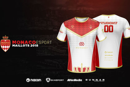 Maillots Monaco eSport