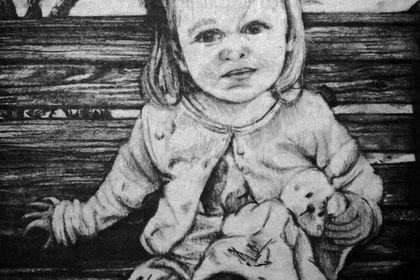 Portrait Noir & Blanc - Mila