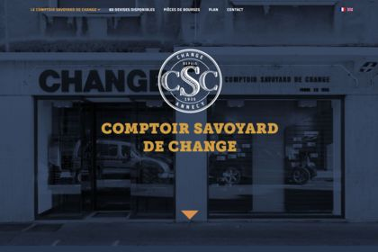 CSC Annecy - webdesign