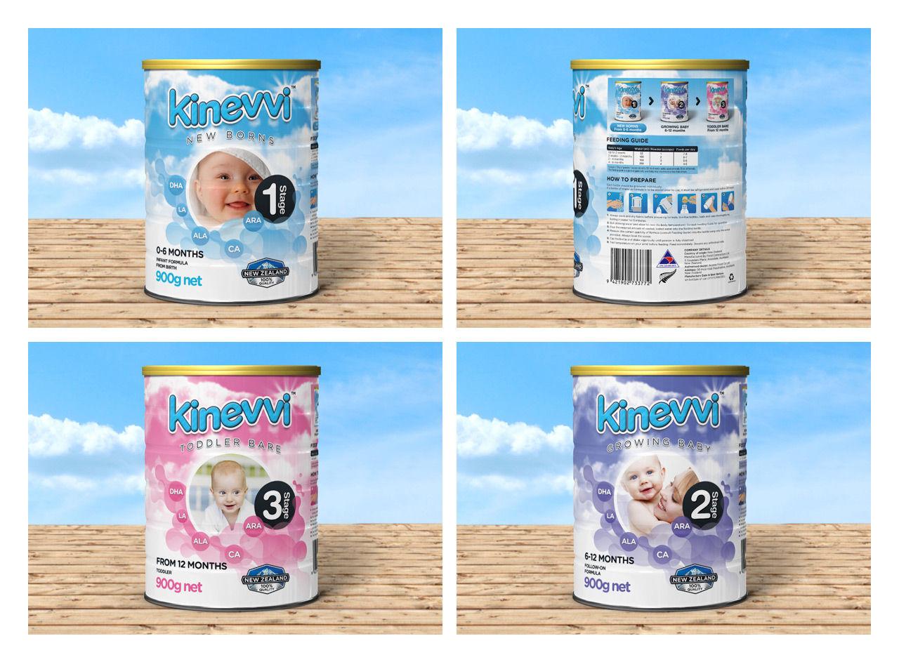 Kinevvi : Packaging lait maternel