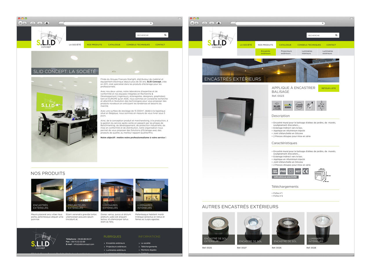 SLID : Wordpress custom