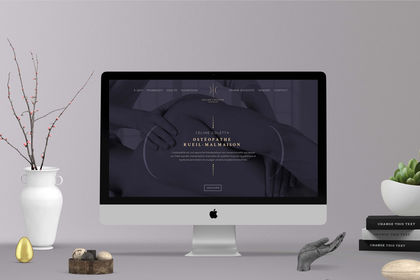 Takestwo site internet ostéopathe