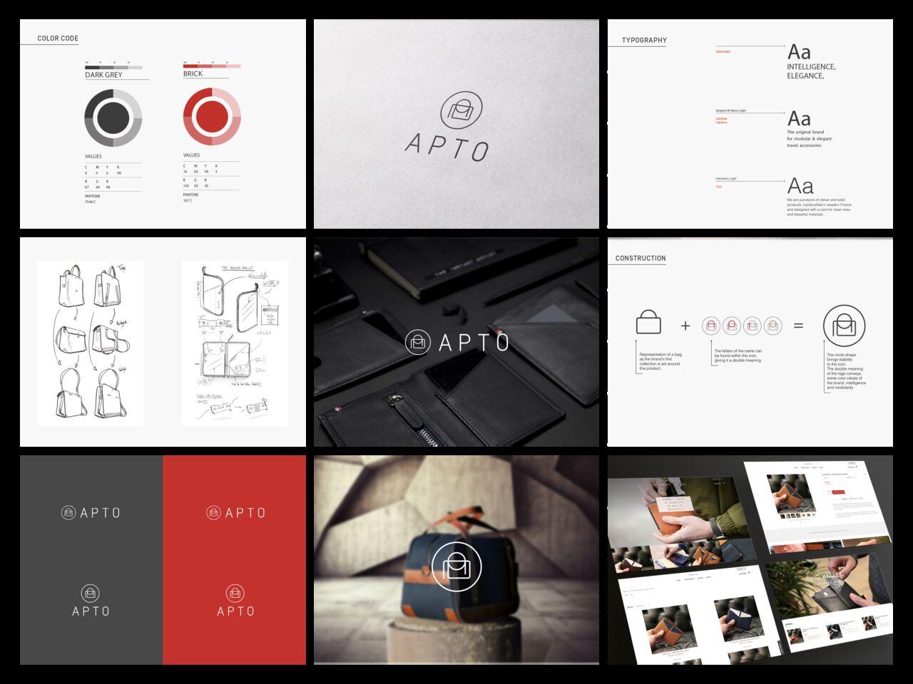 Apto   Branding, Création d'entreprise, WebDesign