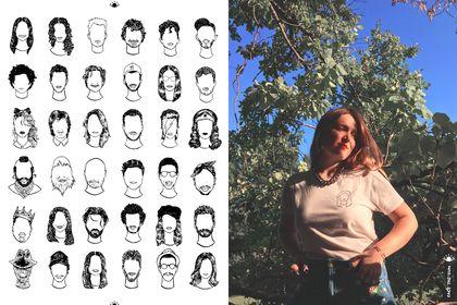 """Design pour t-shirts """"Face The Sun"""""""