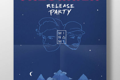 """Affiche """"Panorama EP - Release Party"""""""