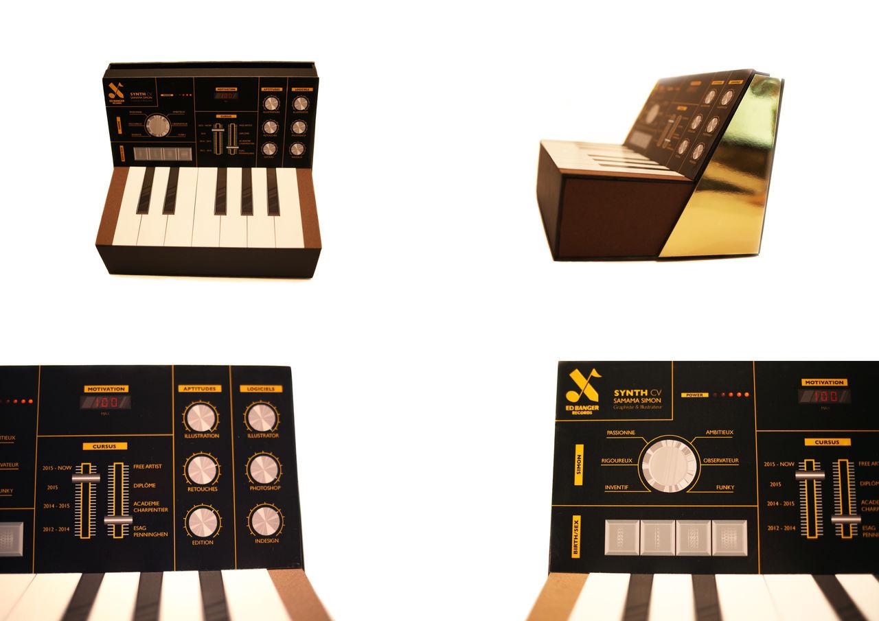Piano Synthé CV