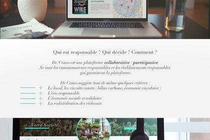 Charte graphique et d'un webdesign