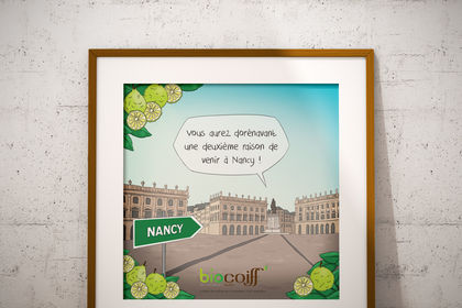 Illustration Biocoiff'