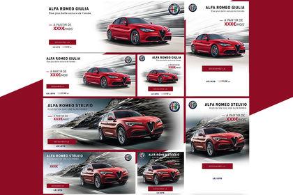 Sliders Alfa Romeo