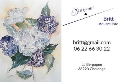 Britt - Carte de visite