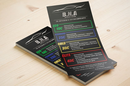 Flyers | BNA Nettoyage auto