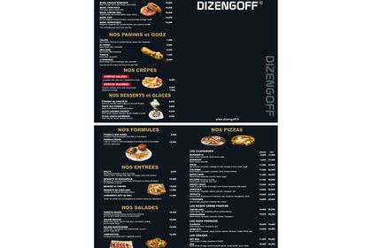 Dizengoff carte