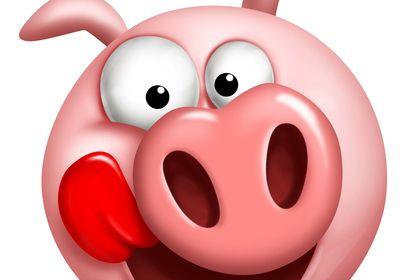 Cochon mascotte
