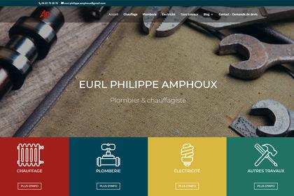 SITE VITRINE - AMPHOUX PHILIPPE