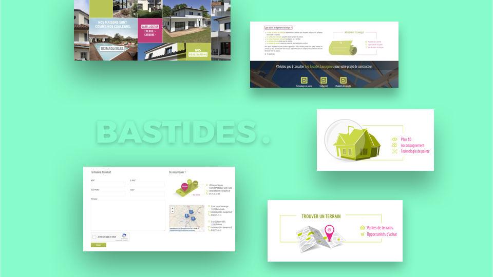 Site Les bastides Lauragaises