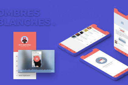 Application smartphone Ombres Blanches