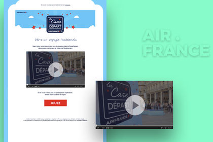 Emailing Air France
