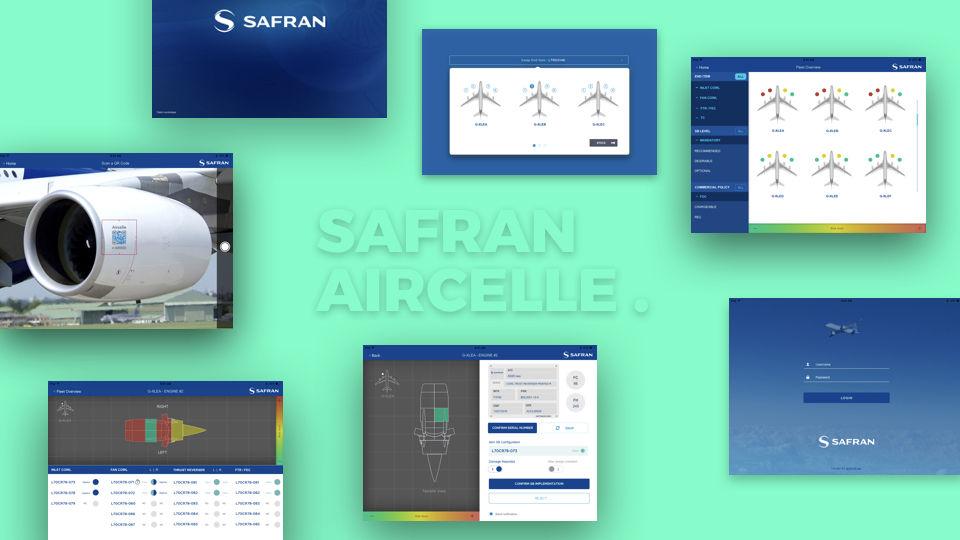 Application Ipad Safran Nacelles