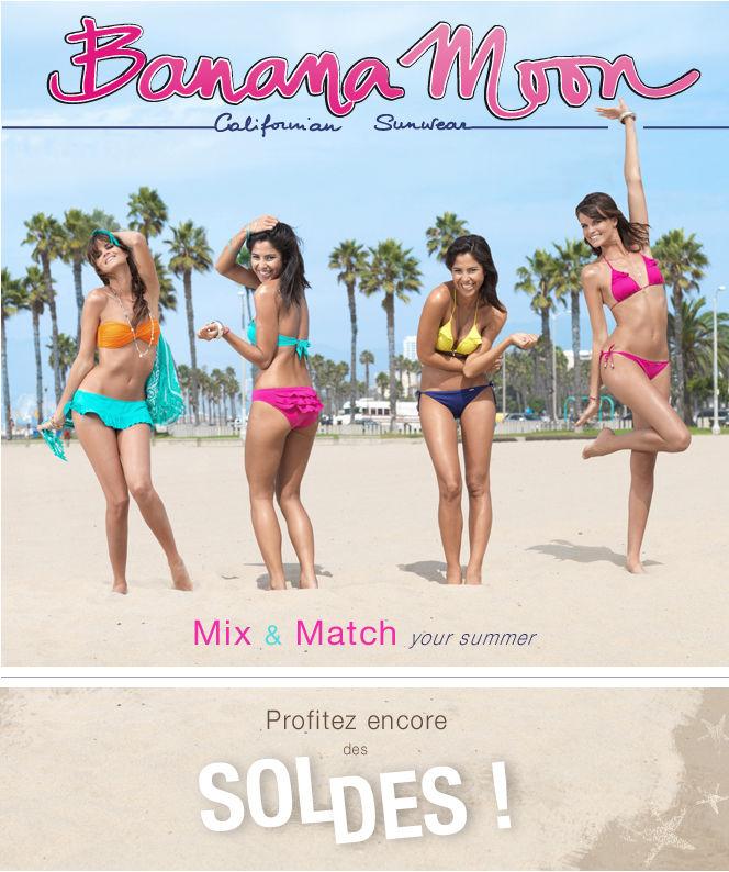 """Newsletter Banana Moon """"Mix & Match your summer"""""""