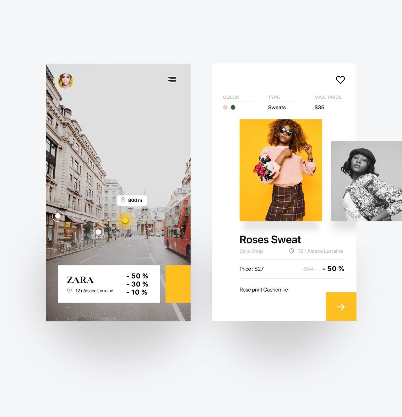 Application mobile - Réalité Augmentée