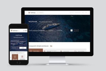 Yotha, Homepage