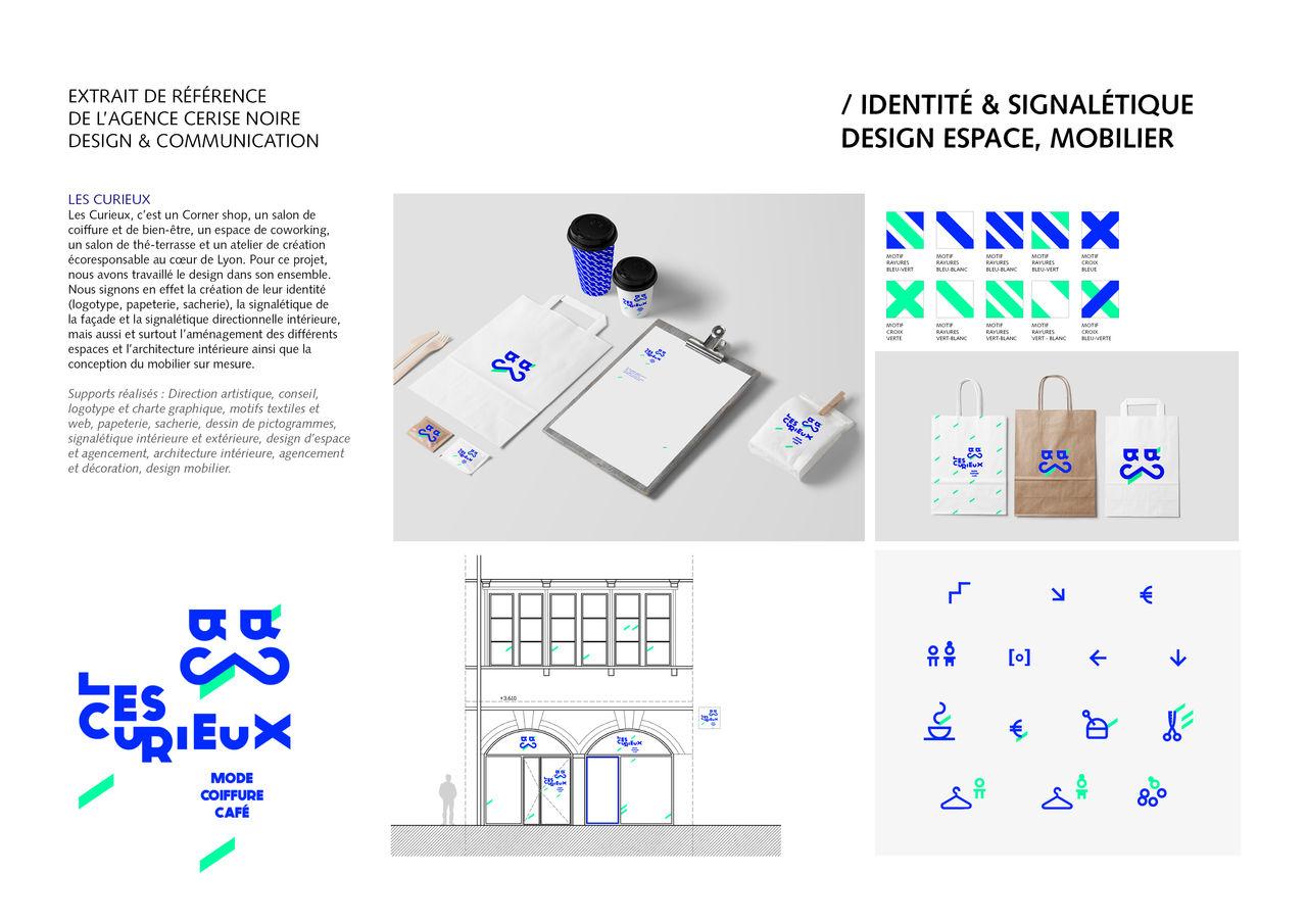 Design global Les Curieux