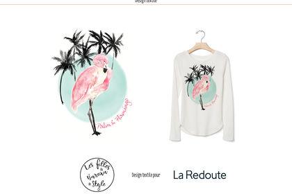 Design textile La redoute