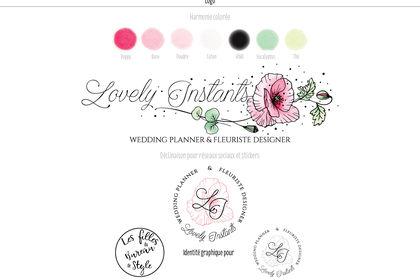 Identité graphique pour Lovely Instants