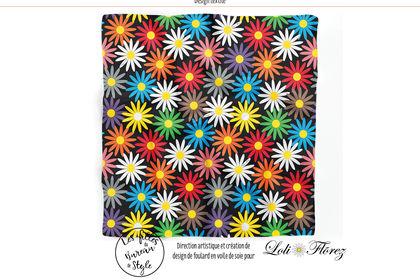 Design textile pour Loli Flõrez