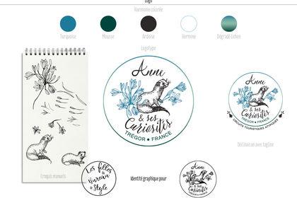 Logotype et naming pour Anne et ses Curiosités.