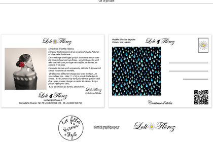 Carte postale Loli Florez