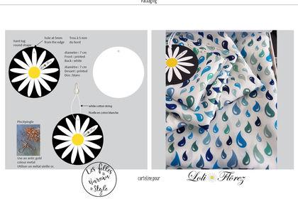 Carteline pour la marque Loli Florez