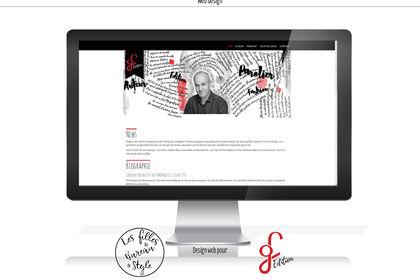 Design web pour Gregoire fratacci