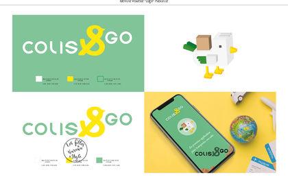 Colis&go, logo et mascotte