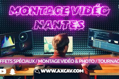 Montage vidéo à Nantes
