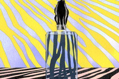 Zebra frenzy bottle