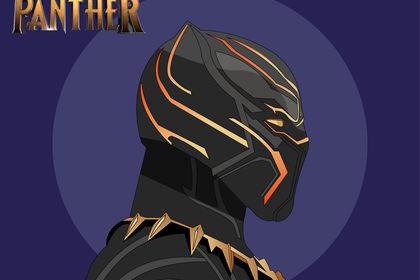 Illustration Black Panther