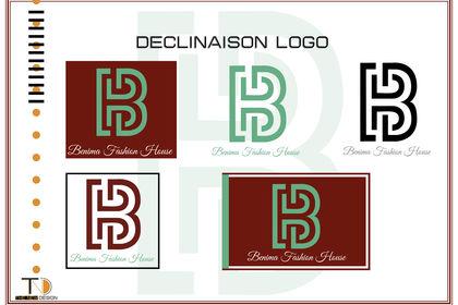 Déclinaison logo Benima