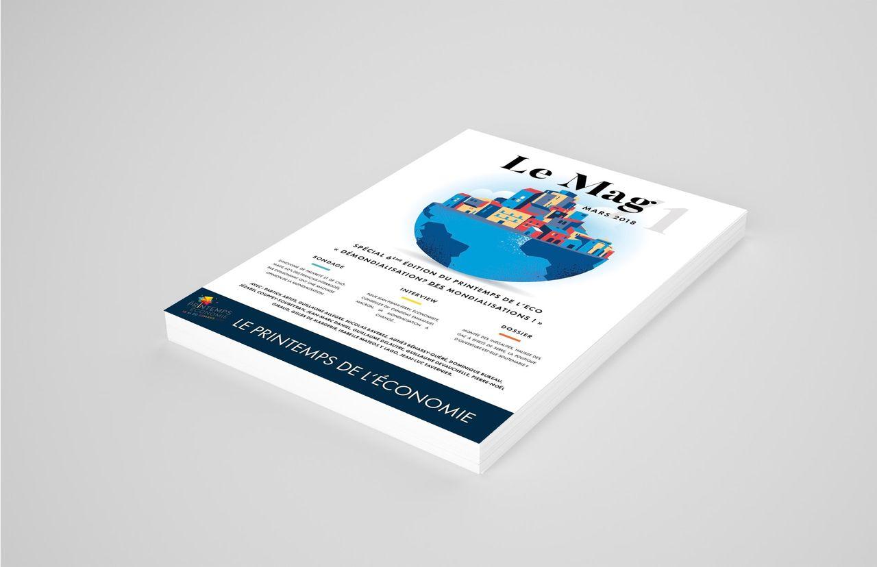 Création du Magazine Le Printemps de L'Économie 20