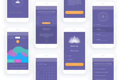 Bloom Up - Design UX/UI - Ergonomie