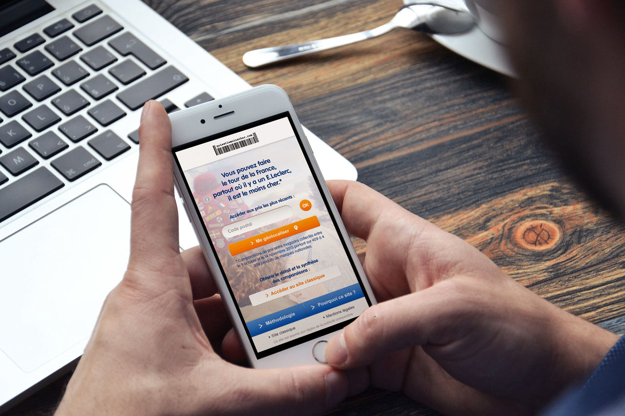 Application mobile Quiestlemoinscher.com